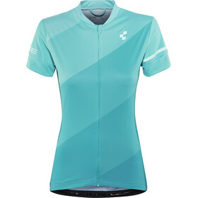 Cube Tour Jersey Dames, blue pattern